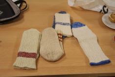 Pletení ponožek - 30.1. 2019