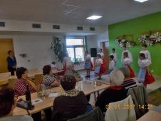 Představení Folklorního kroužku přiZŠ Ladná - 9.5. 2017