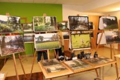 Výstava fotografií Vojtěcha Vozdy asbírek občanů Ladné