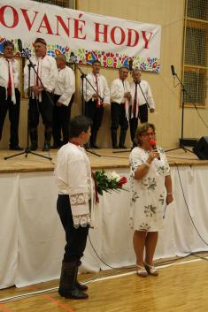 Předhodovní zpívání v Ladné 17.9.2021